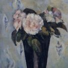 Dark Blue Vase, 1880 - 30x40 IN Canvas