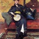 The Blue Kimono, 1898 - 30x40 IN Canvas