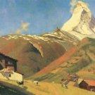 View of Zermatt by Felix Vallotton - A3 Poster