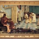 J. W. Waterhouse - The favourites of the Emperor Honorius - A3 Poster