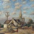 Calvaire and Church of Nizon (near of Pont-Aven) - 24x18 IN Poster