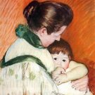 Woman and Child by Cassatt - 30x40 IN Canvas