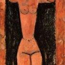 Modigliani - Caryatid [3] - 24x32 IN Canvas
