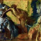 After the Bath [2] b Degas - 30x40 IN Canvas