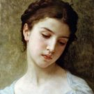 Head Of A Young Girl 1898 - 30x40 IN Canvas