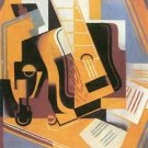 Guitar [1] by Juan Gris - 30x40 IN Canvas