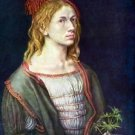 Self Portrait 3 by Durer - 30x40 IN Canvas