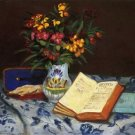 Still Life with Box with Blue Gloves, 1873 - 30x40 IN Canvas