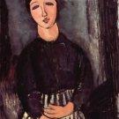 Modigliani - Portrait of Abigail - A3 Poster
