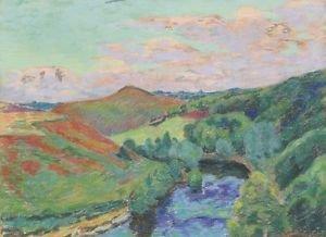Landscape of Creuse, 1908 - A3 Poster