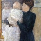 Mother and Child, 1893 - A3 Poster