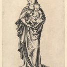 Madonna and Child with apple (1470-1490) - A3 Poster