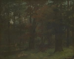 Gustave Courbet - In the Forest - A3 Paper Print