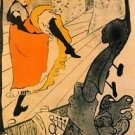 Jane Avril by Toulouse-Lautrec - A3 Poster
