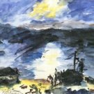 Walchensee [4] by Lovis Corinth - A3 Poster