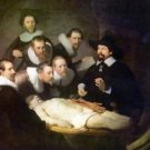 Anatomy of Dr. Tulp by Rembrandt - A3 Paper Print