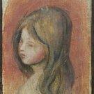 Portrait of Little Girl - 24x32 IN Canvas