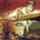 A craving for cherries by Alma-Tadema - 24x32 IN Canvas