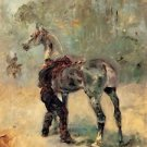 Artilleryman and his horse by Toulouse-Lautrec - A3 Poster