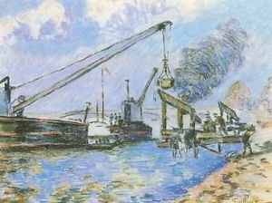 The Quay of Rapee in Paris, 1885 - A3 Poster
