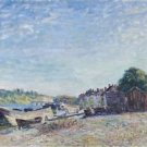 Banks of the Loing at Saint-Mammes, 1885 - A3 Poster
