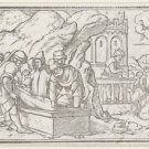 Burial of Jacob cave at Machpelah. 1538 - 24x18 IN Canvas