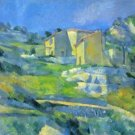 House in the Provence by Cezanne - A3 Poster