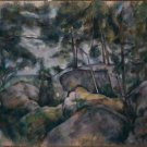 Rocks in the Fountainebleau Forest, 1893 - A3 Poster