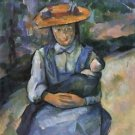 Young Girl with Doll, 1902-04 - A3 Poster