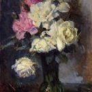 Bouquet of Roses in a Vase - 30x40 IN Canvas