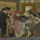 Dirck Hals - A Party at Table - 30x40IN Canvas Painting