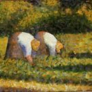Farm Women at Work 1882-3 - A3 Poster
