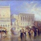 Venice, the Bridge of Sighs - A3 Poster