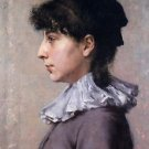 Portrait of Virginia Gerson, 1880 - A3 Poster
