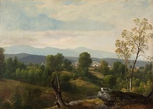 Durand - A View of the Valley - 30x40IN Canvas Painting