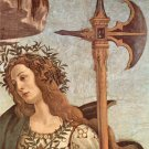 Minerva and the Centaur Detail by Botticelli - 24x18 IN Canvas