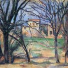 Trees and Houses, 1885-87 - 24x18 IN Canvas