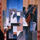 Juan Gris - Violin and Guitar - 24x18 IN Canvas