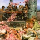 The roses of Heliogabalus detail 2 by Alma-Tadema - A3 Poster