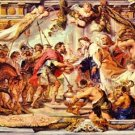 Abraham with Melchizedek by Rubens - A3 Poster