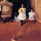 Ring Toss, 1896 - 24x18 IN Canvas