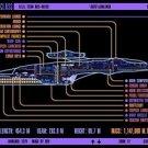 Vinteja charts of - LCARS UFP Luna Class Starship - A3 Paper Print