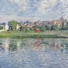Lagny, the Banks of the Marne, 1900 - A3 Poster