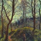 Landscape with Big Trees - Poster (24x32IN)
