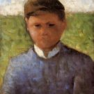 Young Peasant in Blue, 1882 - Poster (24x32IN)