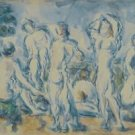 Group of Bathers, 1900 - 24x18 IN Canvas