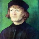 Portrait of a clergyman by Durer - 30x40 IN Canvas