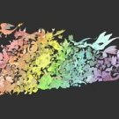 Vinteja charts of - Pokemon Gen 2 - A3 Paper Print