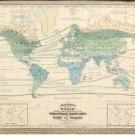 Vinteja charts of - World Resources 1870 - A3 Paper Print