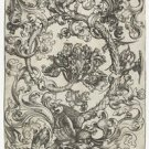 Ornament with owl and other birds. 1470-1490 - 30x40 IN Canvas